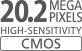 20,2 Megapixel CMOS