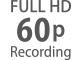 Full HD-framerates van 24 tot 60 fps