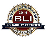 BLI Certificate of Reliability 2014