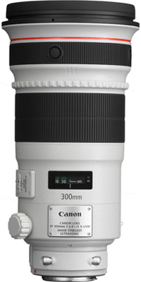 EF 300mm f2.8 L IS II USM