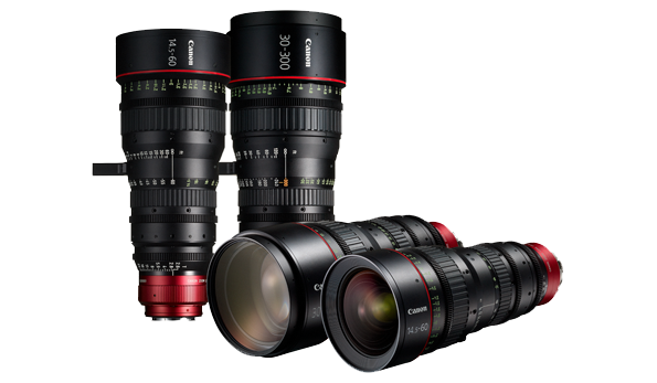 Digital Cinema Lens Range Image